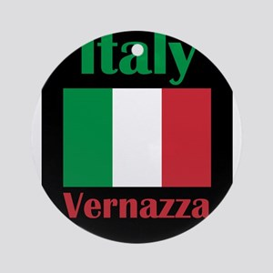 Vernazza Italy Round Ornament