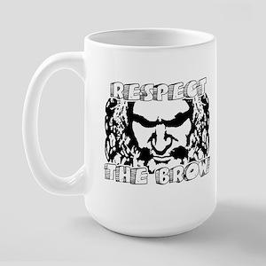 RESPECT THE BROW Large Mug