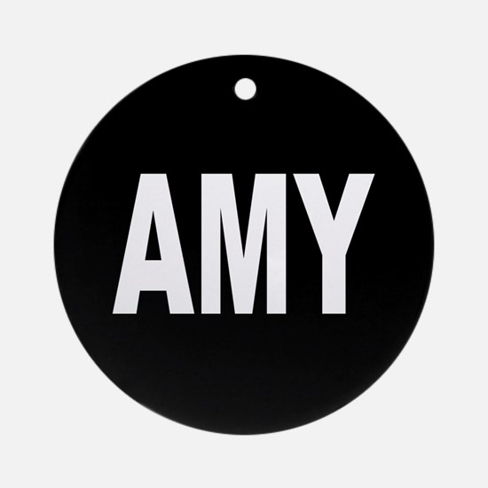 AMY Ornament (Round)