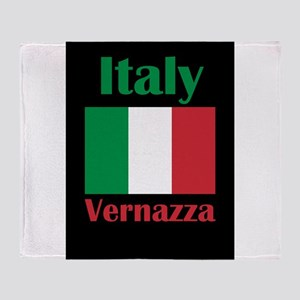 Vernazza Italy Throw Blanket