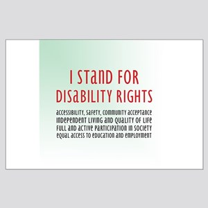 Disability Rights Large Poster