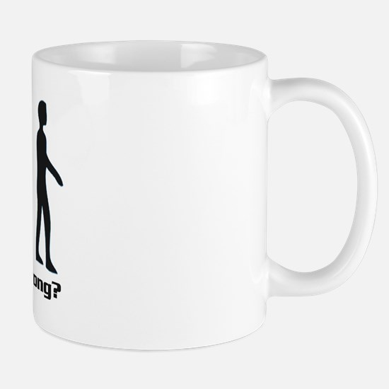 Evolution - Where did it all go wrong? Mug