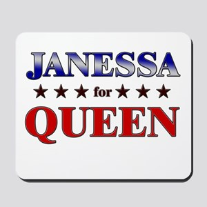 JANESSA for queen Mousepad