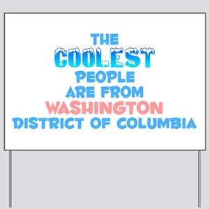 Coolest: Washington, DC Yard Sign
