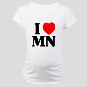 I love Minnesota Maternity T-Shirt