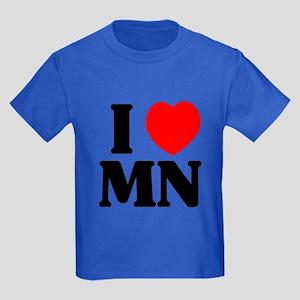 I love Minnesota Kids Dark T-Shirt