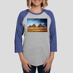 Egyptian Pyramids and Camel Long Sleeve T-Shirt