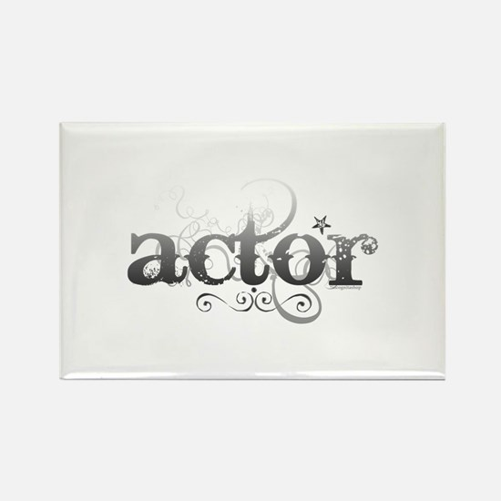 Urban Actor Rectangle Magnet