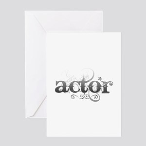 Urban Actor Greeting Card