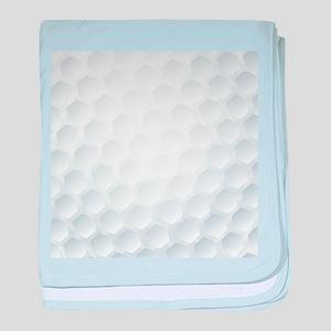 Golf Ball Texture baby blanket