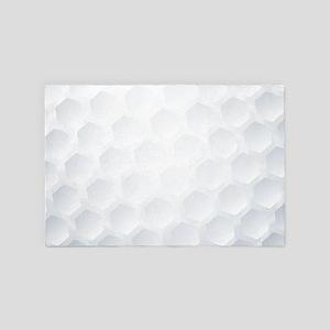 Golf Ball Texture 4' x 6' Rug