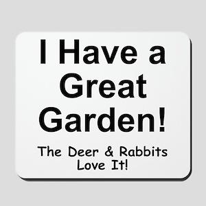Great Garden Mousepad