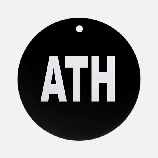 ATH Ornament (Round)