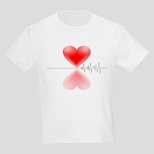 Heart Beat<br> Kids Light T-Shirt