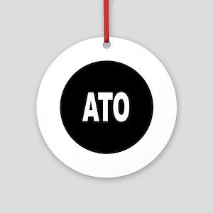 ATO Ornament (Round)