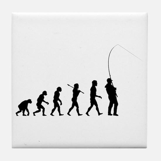 Fishing Tile Coaster