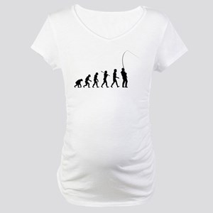 Fishing Maternity T-Shirt