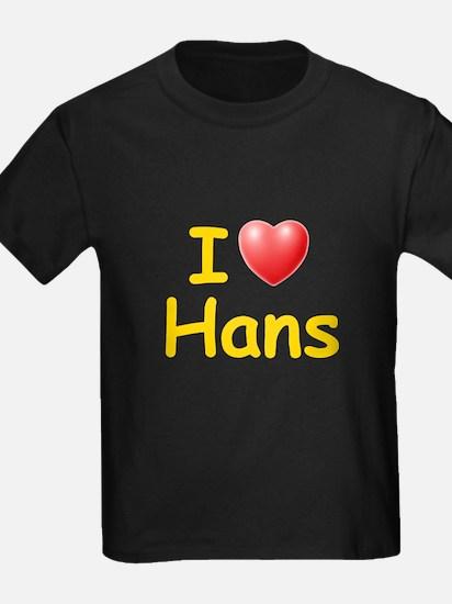 I Love Hans (L) T