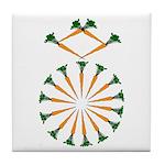 Diamond Ring Tile Coaster