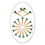 Diamond Ring Oval Sticker