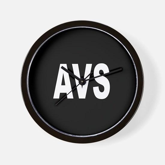 AVS Wall Clock