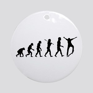 Skateboarding Ornament (Round)