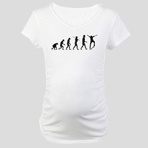 Skateboarding Maternity T-Shirt