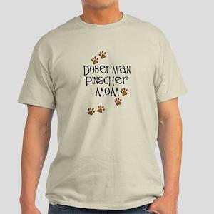 Doberman Pinscher Mom Light T-Shirt