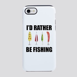 I'd Rather Be Fishing iPhone 8/7 Tough Case