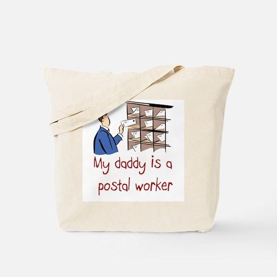 Postal Worker Tote Bag