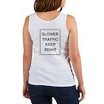 Slower Traffic Women's Tank Top
