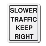 Slower Traffic Mousepad