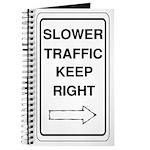 Slower Traffic Journal