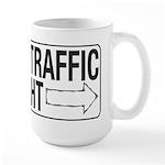 Slower Traffic Large Mug