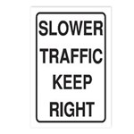 Slower Traffic Postcards (Package of 8)