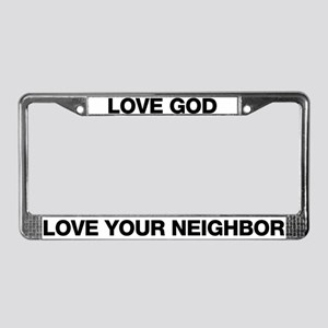 LYN License Plate Frame