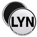 """LYN 2.25"""" Magnet"""