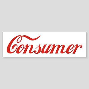 Consumer Bumper Sticker