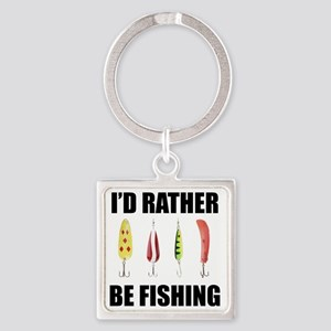 I'd Rather Be Fishing Keychains