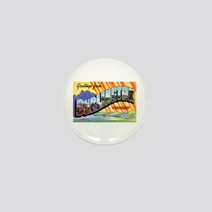 Burlington Vermont Greetings Mini Button