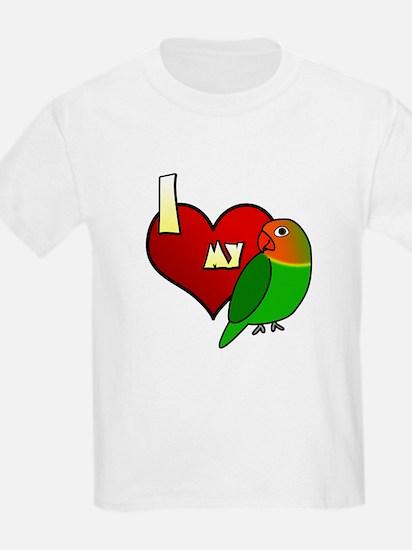 I Love my Fischer's Lovebird T-Shirt