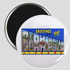 Birmingham Alabama Greetings Magnet