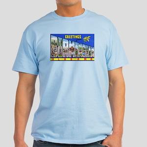 Birmingham Alabama Greetings Light T-Shirt