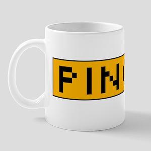 Ping Me Button Mug