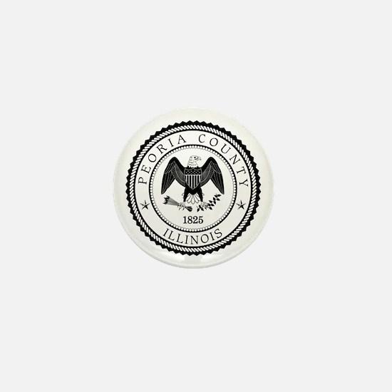 Peoria County Mini Button