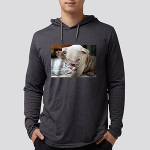 Funny English Bulldog Puppy Long Sleeve T-Shirt