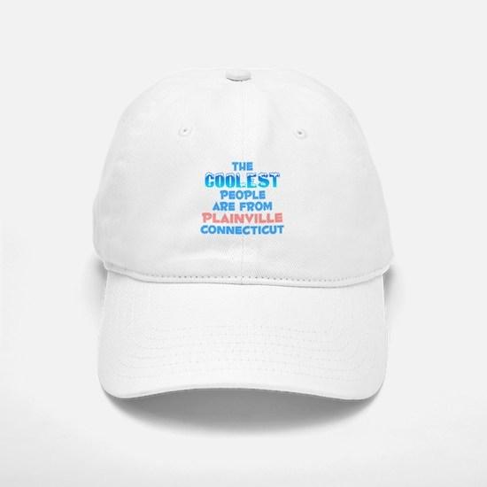 Coolest: Plainville, CT Baseball Baseball Cap