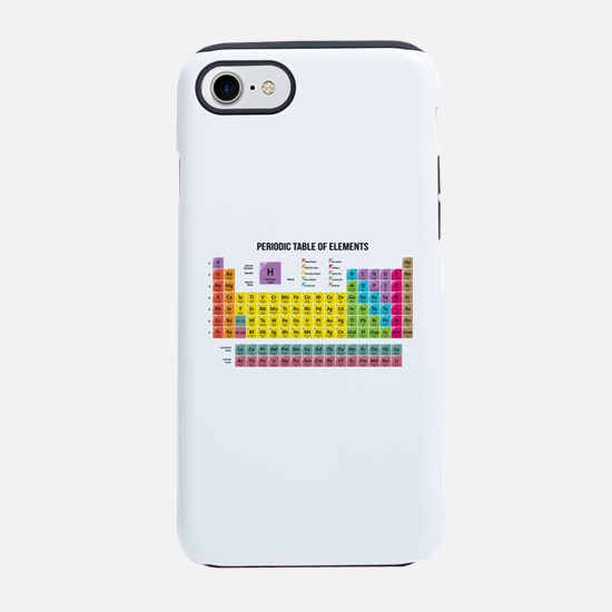 Periodic Table Of Elements iPhone 8/7 Tough Case