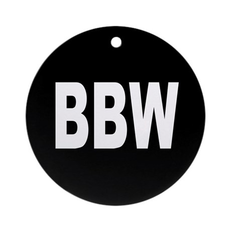 BBW Ornament (Round)