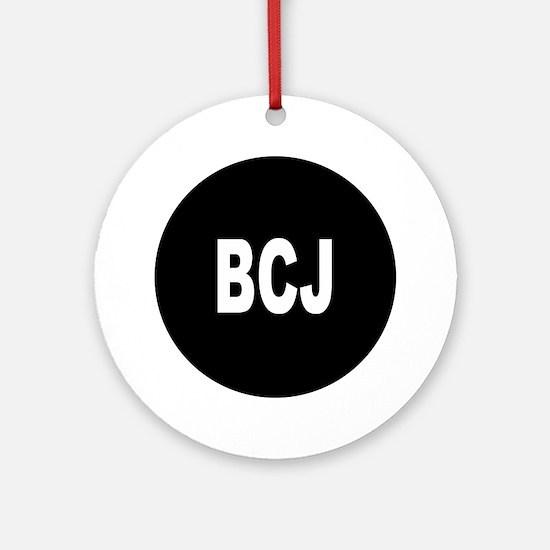 BCJ Ornament (Round)